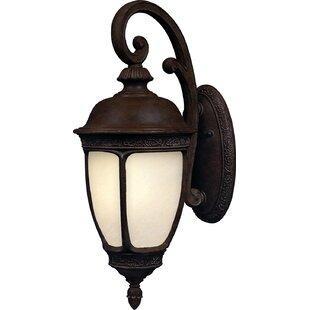 Comparison Edwardsville 1-Light Outdoor Wall Lantern By Alcott Hill