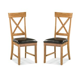 Millwood Pines Whipple X-Back Side Chair (Set of 2)
