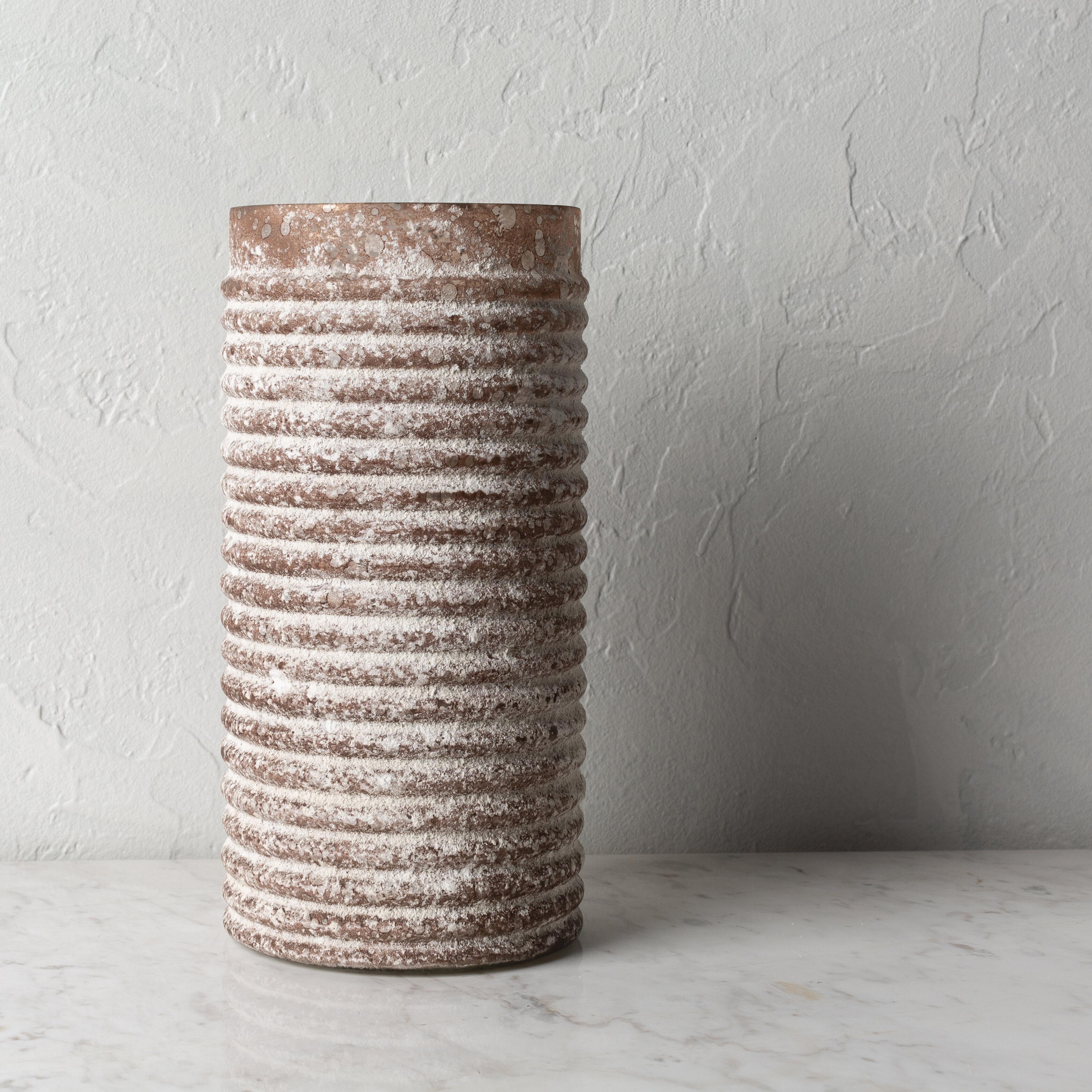 Gracie Oaks Niota Brown 12 Glass Table Vase Wayfair