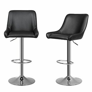 Gerow Adjustable Height Swivel Bar Stool ..