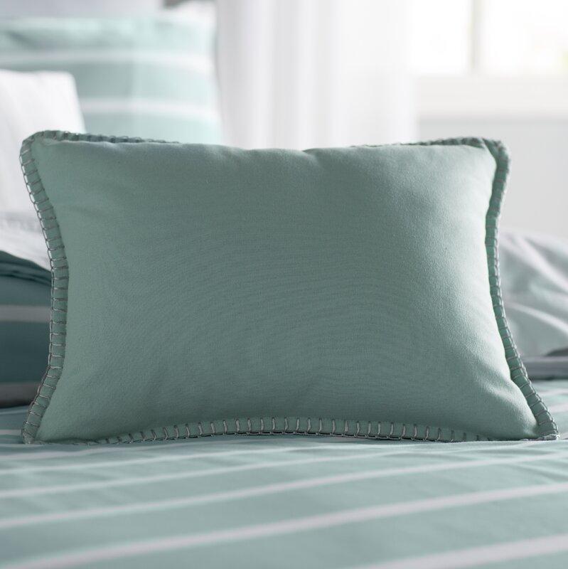 Andersen Stitched Edge Decorative Lumbar Pillow