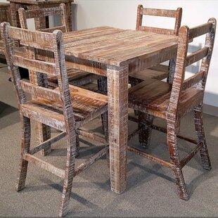Walczak 5 Piece Pub Table Set by Millwood Pines