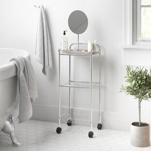 Review Cavazos 32 X 77cm Bathroom Shelf