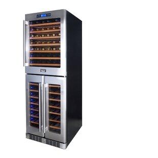 Kucht 121 Bottle Triple Zone Freestanding Wine Cellar