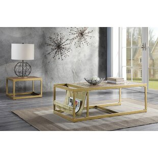 17 Stories Kristopher 2 Piece Coffee Table Set