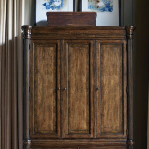 Finnegan Armoire Top by Three Posts