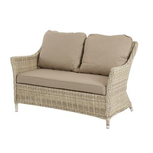 Rysing 2 Seater Garden Loveseat With Cushion Image