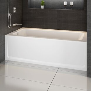 "Signature® 60"" x 32"" Alcove Whirlpool Bathtub"