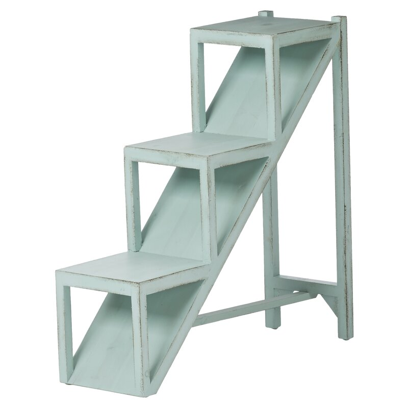 Marvelous Luka Stair Step End Table