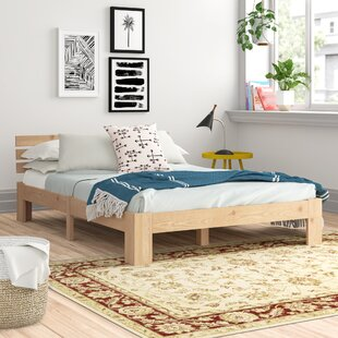 Umera Solid Wood European Double Bed With Storage By Zipcode Design