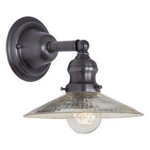 Searching for Edgar 1-Light Armed Sconce By Gracie Oaks