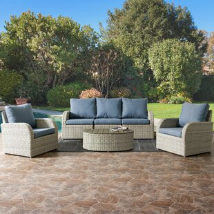 Costanzo 6 Piece Sectional Set With Cushions by Rosecliff Heights Find