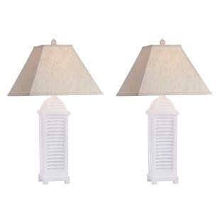 Azaiah Shutter 30 Table Lamp (Set of 2)