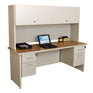 Crivello 4 Drawers And Door Computer Desk With Hutch by Red Barrel Studio 2019 Sale