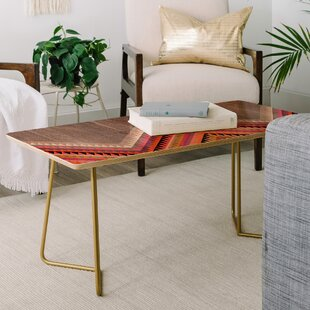 Iveta Abolina Boardwalk Coffee Table by East Urban Home