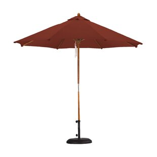 Beachcrest Home April Woodhaven 9' Market Umbrella