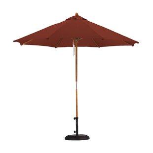 Beachcrest Home April Woodhaven 9' Market Umbrella