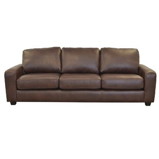 Westland and Birch Hanson Leather Sofa