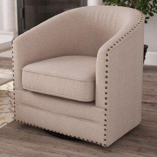 Macauley Barrel Chair by Gracie Oaks