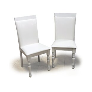 Daisi Upholstered Wood Dining Chair (Set ..