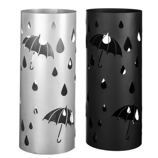 Strawn Umbrella Stand (Set Of 2) By Mercury Row