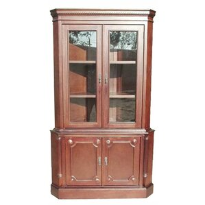 Corner China Cabinet by D-Art Collection