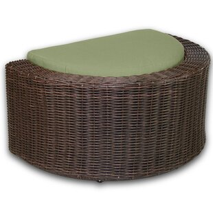 Palomar Ottoman with Cushion by Patio Heaven