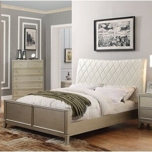 Noannet Upholstered Panel Bed
