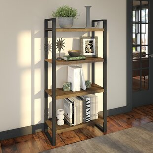 Avi 4 Shelf Etagere Bookcase