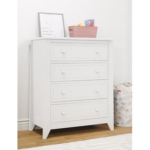 Brittany 4 Drawer Chest by Sorelle Comparison