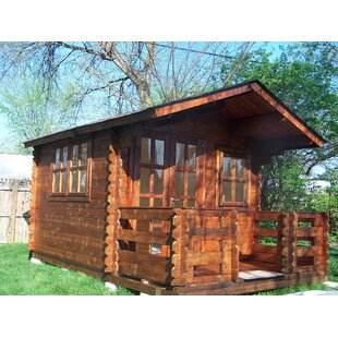 SolidBuild Whales 9 ft. 9 in. W x 9 ft. 9 in. D Wooden Storage Shed
