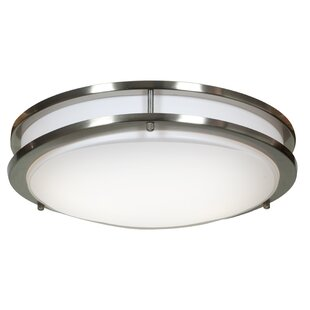 Penning 1-Light 20W Flush Mount by Latitude Run