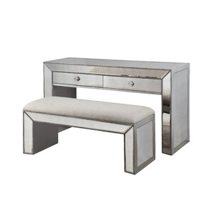 BestMasterFurniture 2 Piece Console Table Set