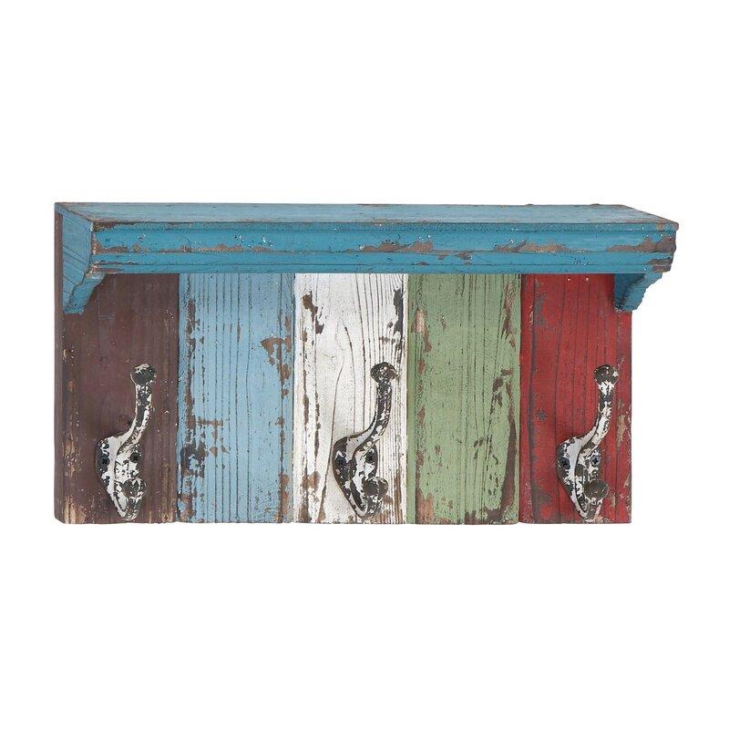 Dockery Wood Metal Wall Mounted Coat Rack Amp Reviews Joss