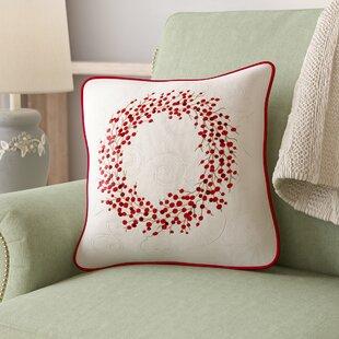 Blackmon Embroidered Throw Pillow