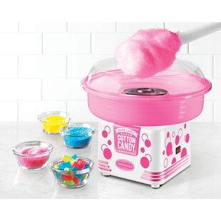 4-Piece Hard & Sugar-Free Candy Cotton Candy Maker Set