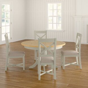 Will Round Extendable Dining Set With 4 Chairs By August Grove