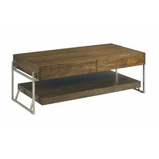 Ayslee Floor Shelf Coffee Table with Storage