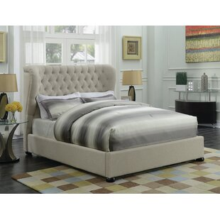 Humboldt Upholstered Panel Bed by Darby Home Co