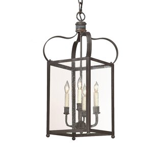 Darby Home Co Kareen 4-Light Outdoor Pendant