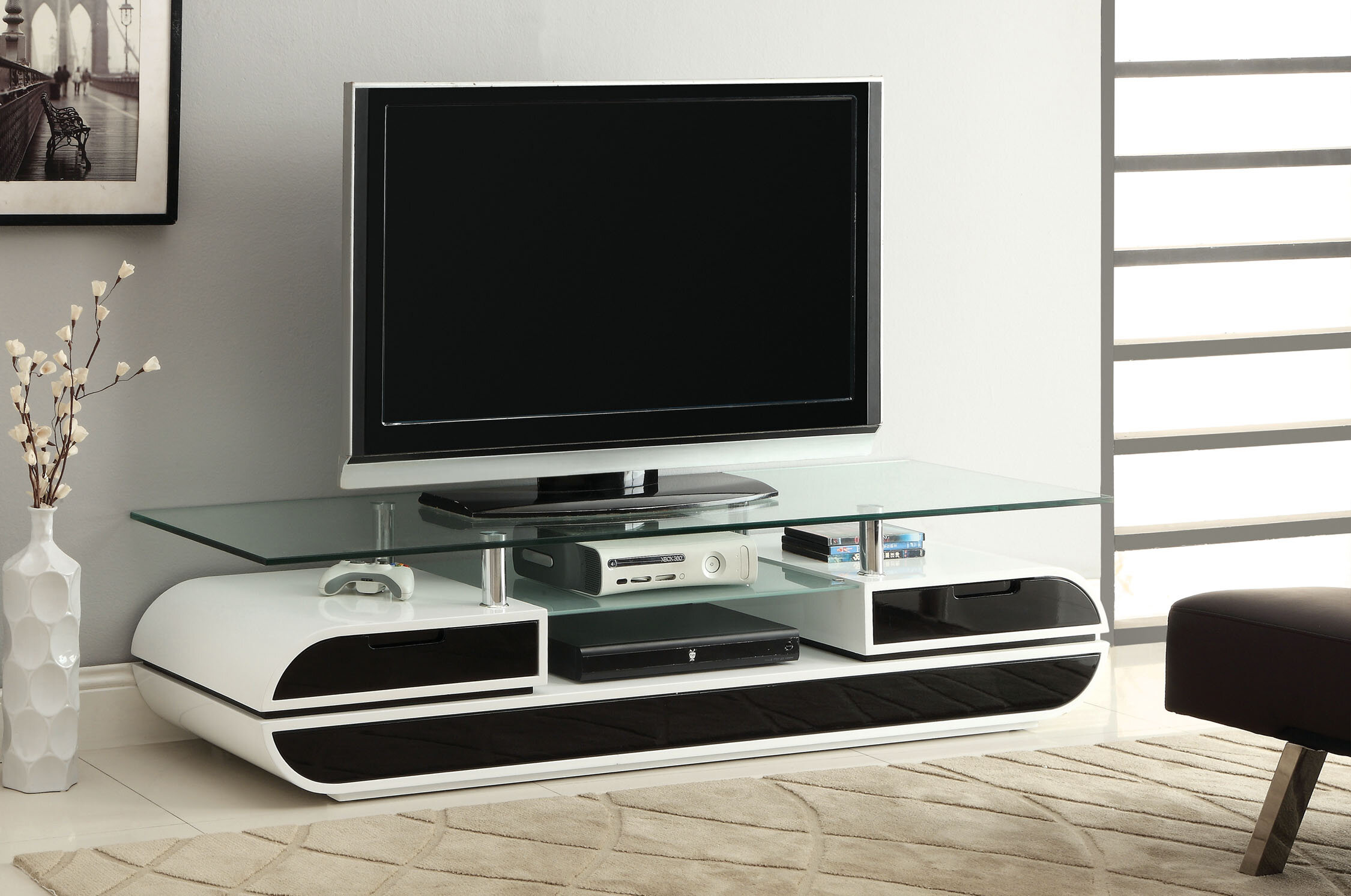 Hokku Designs Ezren Tv Stand For Tvs Up To 70 Reviews Wayfair