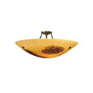 Bloomsbury Market Baumann 3 Light Bowl Pendant
