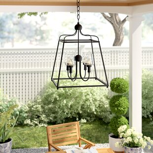 Barnaby 4-Light Outdoor Chandelier