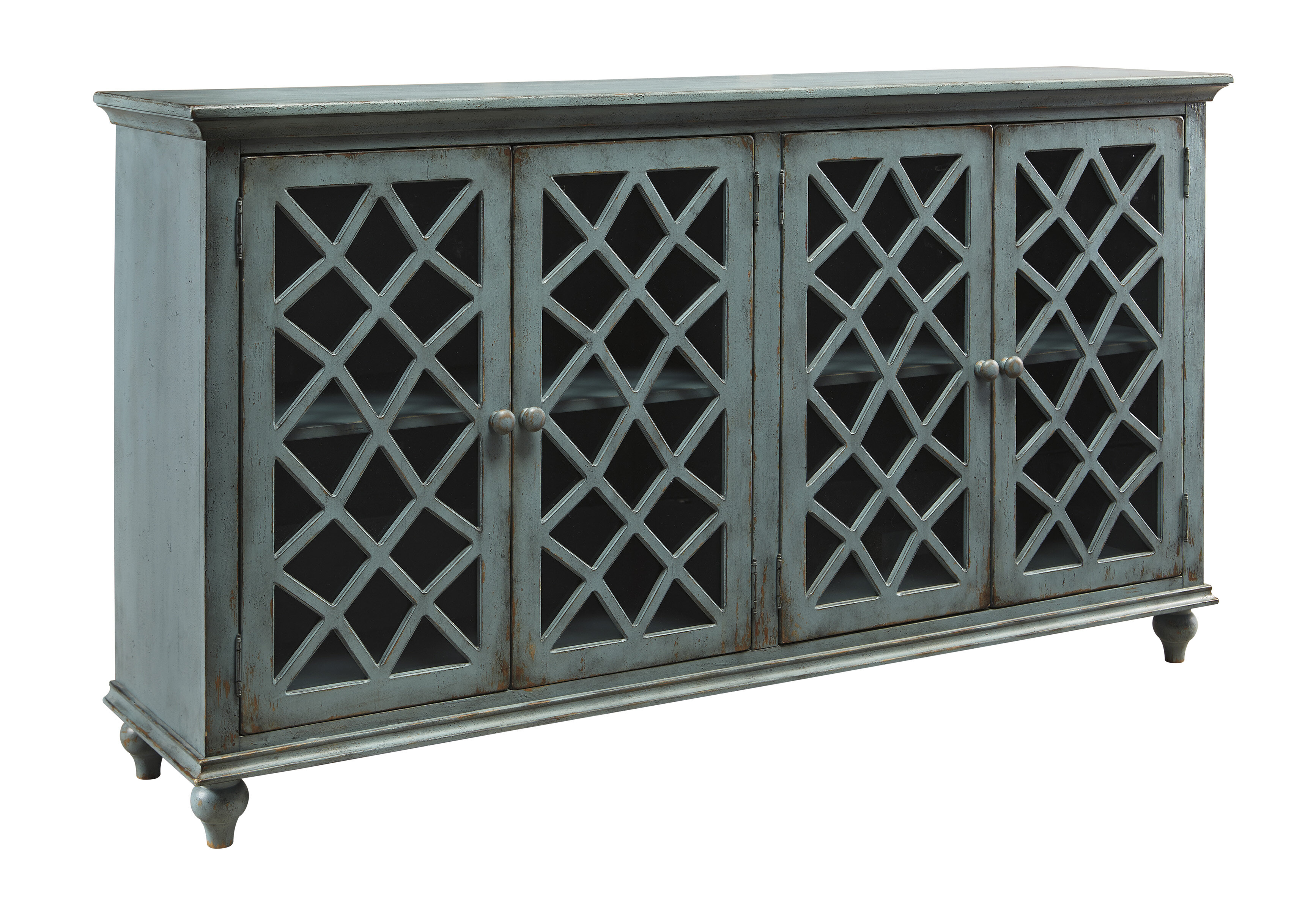 Dark Wood Mirrored Credenza : Sideboards & buffet tables joss main