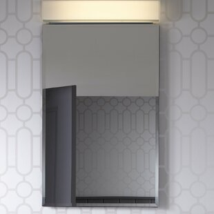 PL Series 19.25 x 34 Recessed or Surface Mount Medicine Cabinet with Adjustable Shelves Robern