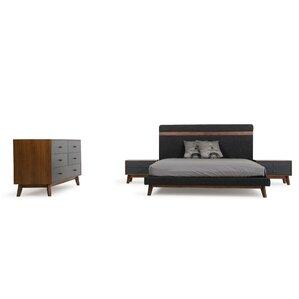 Lani Platform 5 Piece Bedroom Set