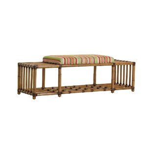 Twin Palms Seafarer Upholstered Storage Bench