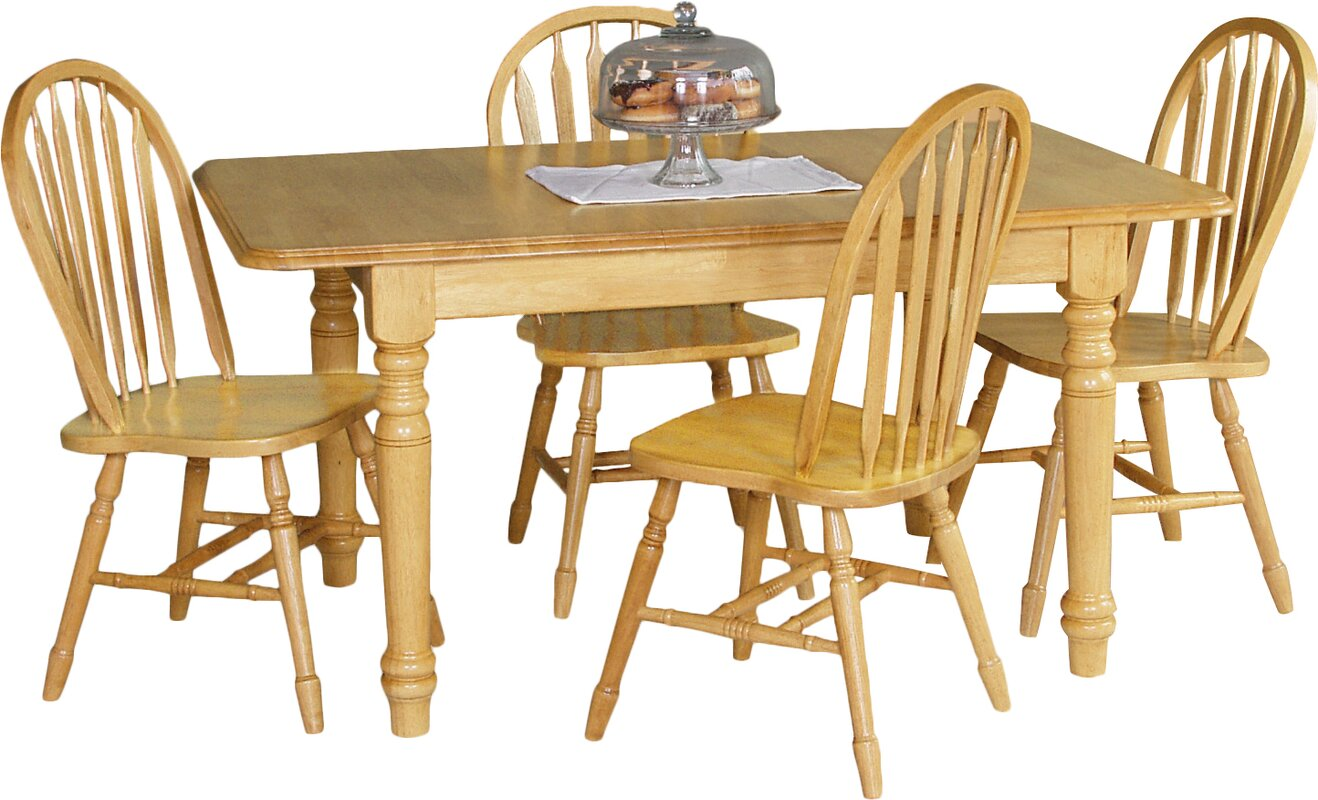 Sunset Selections Butterfly Extension Dining Table