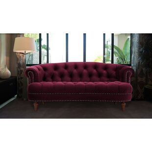 Mowry Chesterfield Loveseat by House of Hampton