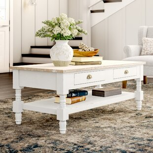 Abby Ann Coffee Table with Tray Top
